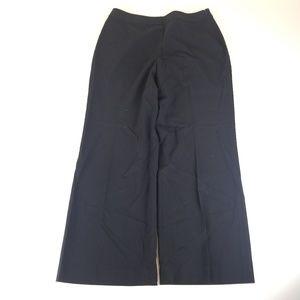 Talbots Petites Womens Black Stretch Pants